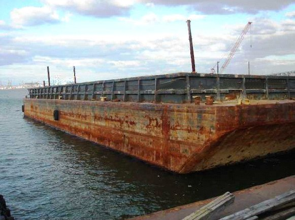 INLAND HOPPER BARGE