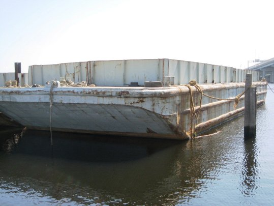 INLAND DECK BARGE