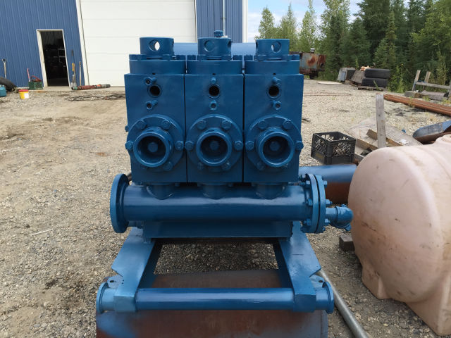 ewco 440 triplex mud pump