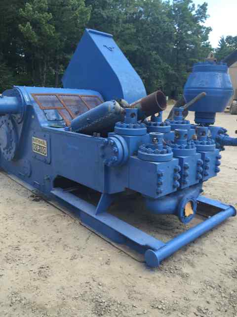national oilwell 10p mud pump