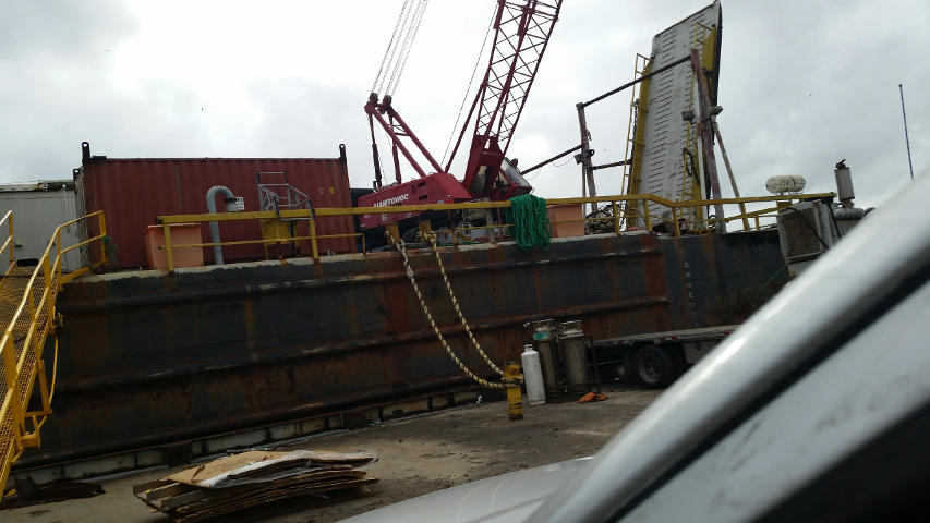 Crane Barges for Sale - Sun Machinery Corp.